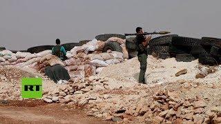 Siria: Militantes vistos en la zona desmilitarizada de Idlib