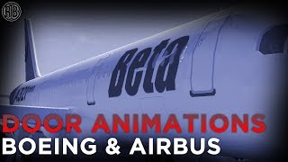 ROBLOX | How to Animate plane doors! (BOEING AND AIRBUS)