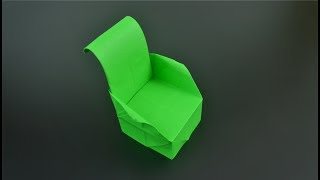 Origami: Armchair - Instructions in English (BR)