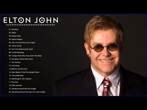 Elton John Greatest Hits Full Album - Best Songs Of Elton John