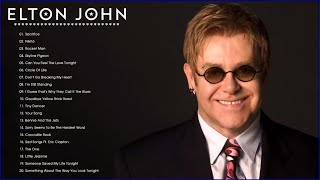 Elton John Best Songs - Best Rock Ballads 80's, 90's | The Greatest Rock Ballads Of All Time