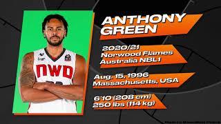 Anthony Green (#30) 2020/2021 Highlights || Norwood Flames (Australia NBL1)