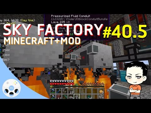 PlearnGaming LIVE: Minecraft Sky Factory #40.5 - ทดสอบ inter