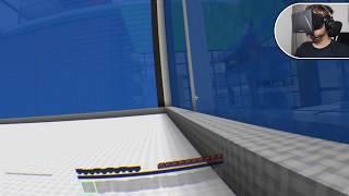 PULEI NA PRIVADA! - Minecraft: The Dropper + Oculus Rift (parte 02).