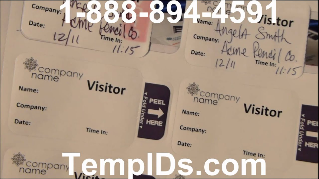 expiring labels sheet for laser printers visitor name tags secure