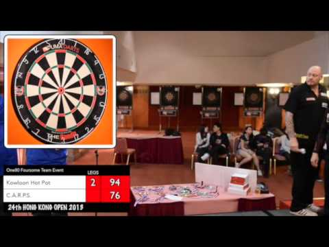 Hong Kong Darts Open  2013 ONE80 Foursome Team Event Final