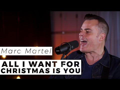 """Marc Martel Destroys This Live Cover Of """"All I Want For Christmas Is You"""" 