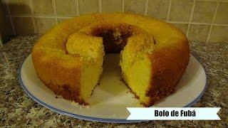 Brazilian Cornmeal Cake