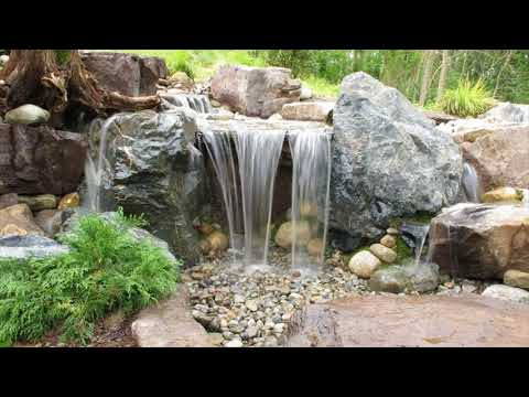 Build A Simple Backyard Waterfall