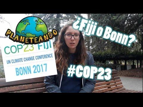 ¿La COP23 es en Fiji o en Bonn?