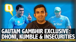 Gautam Gambhir Exclusive: Friendship with Dhoni, Kumble & Career Insecurities | The Quint