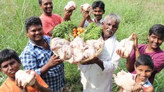 Roasted whole Chicken in Traditional Way | How to Cook Roast Chicken with out Oven