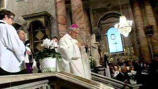 I funerali di monsignor Scarafile - Fonte Piazzanews
