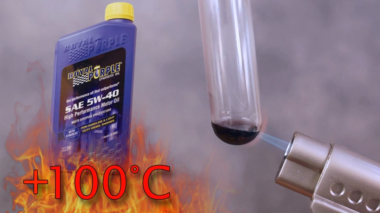 Royal Purple Oil Review >> Royal Purple 5w40 How Clean Is Engine Oil Test Above 100 C