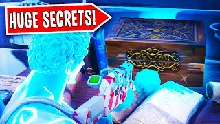 *NEW* DON'T OPEN this SECRET CHEST in Polar Peak.. | Fortnite: Battle Royale