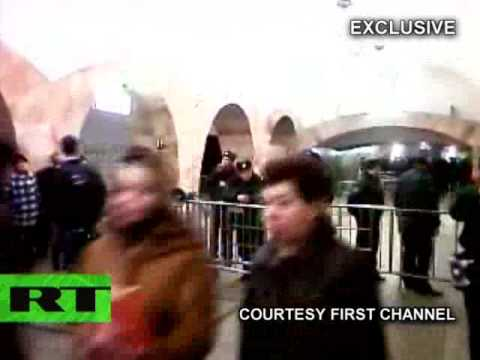 Subway bomb: First video, photos moments after Moscow metro suicide blasts