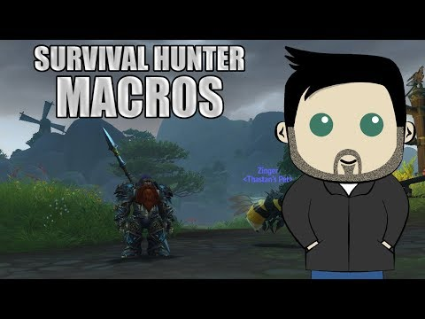 Survival Hunter GSE Macros For 8.0