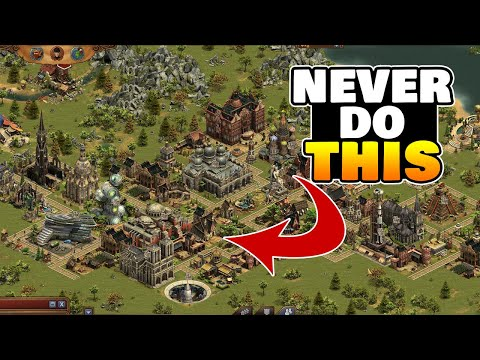 10 Common Mistakes New Players (or Bad Players) Make in Forge Of Empires (and what to do instead...)