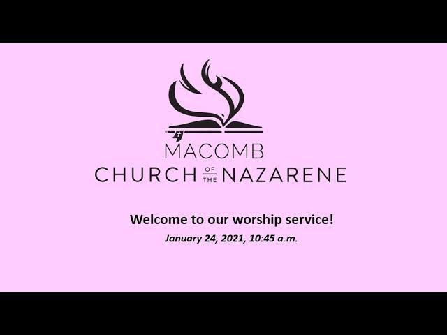 Sunday Morning Worship - January 24, 2021