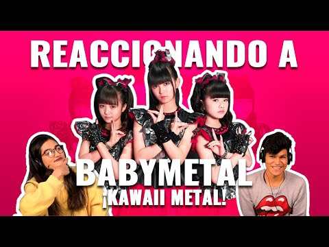 Babymetal: Kawaii Metal   Reaccionando
