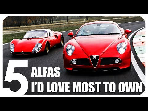 The 5 Alfas I'd love most to own