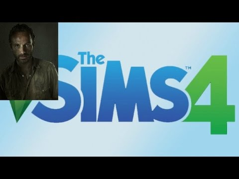 Sims 4 CAS Rick Grimes