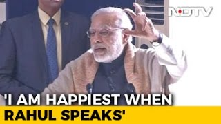 No Chance Of Earthquake Now That He Has Spoken, PM Taunts Rahul Gandhi