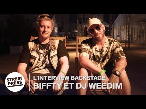 Youtube: Biffty et DJ Weedim: Interview Backstage. Rillettes,  Ecsta et Souye Fest.