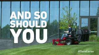 Stay in the Safety Zone - Landscaper