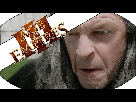 ABANDON YOUR POSTS, FLEE FOR YOUR LIVES!!! - Age of Empires III Multiplayer Gameplay!
