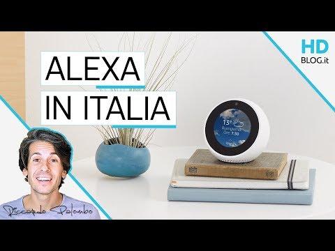 STO PARLANDO CON ALEXA? Amazon Echo disponibili in Italia | RECENSIONE
