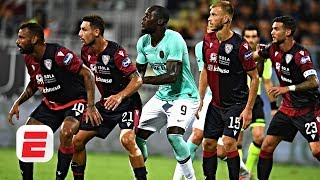 'A strong statement is needed' after Romelu Lukaku endures racist chants at Cagliari | ESPN FC