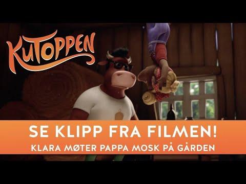 Klara møter pappa Mosk på gården | Fra KUTOPPEN filmen | Dyreparken | Qvisten | Nordisk film