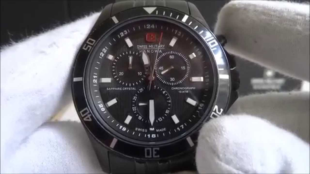 46e6d1d18d5 Swiss Military Hanowa 5183.13.007 - YouTube