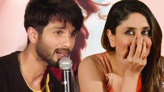 Shahid Kapoor OPENLY TALKS about ex-girlfriend Kareena Kapoor Khan