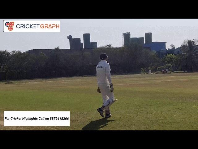 Cricket Match Highlights Radio Tigers V Mavericks cricket ground in mumbai, mahul. Zakaria 101* (52)