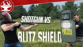 Blitz Shield Real Life Testing (from R6 SIEGE)