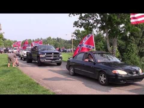 Kingsport, TN Rebel Flag Rally & Parade (Part 1)