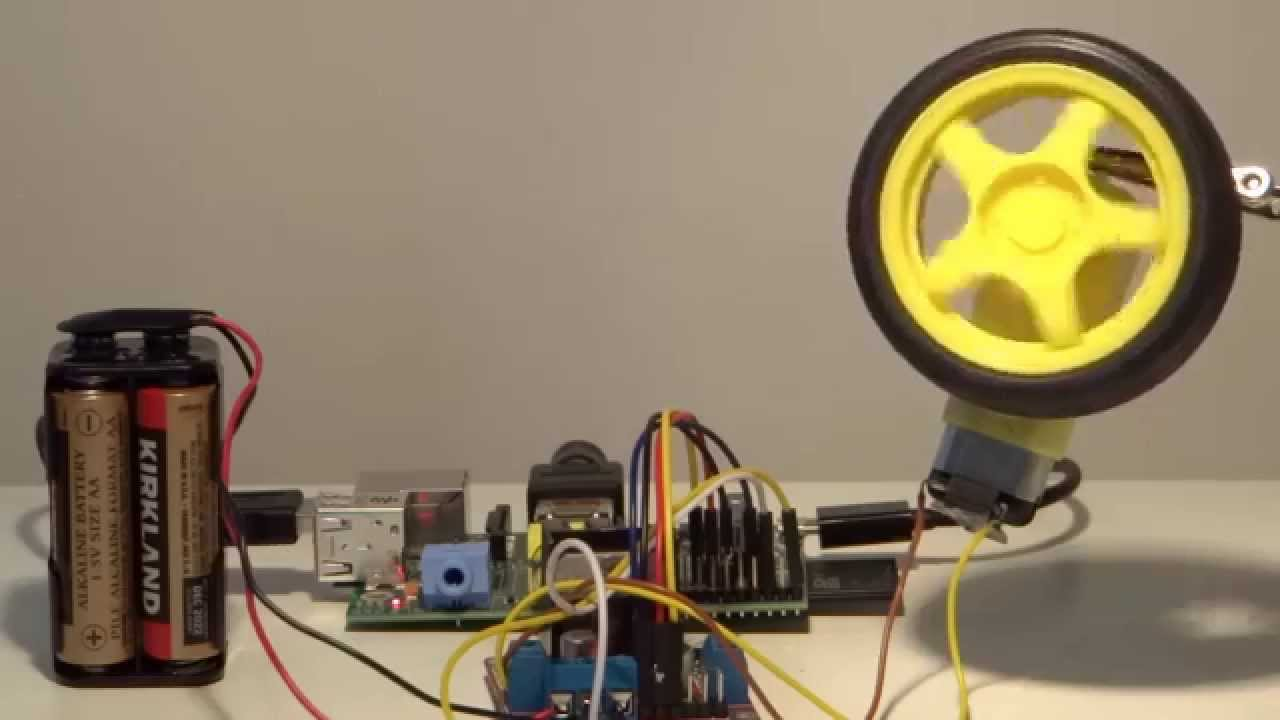 Old Raspberry Pi How To Control Motors Youtube