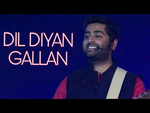 Arijit Singh - Dil Diyan Gallan Live Performance | Full Song | Atif Aslam | Tiger Zinda hai | Salman