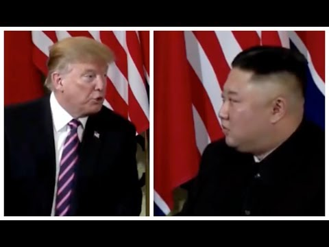 BREAKING 🔴 President Trump SHOCKING meeting with Kim at Hanoi Vietnam Summit