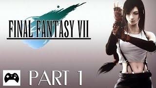 Let's Play Final Fantasy VII [Part 1/ Full-HD/ german] - Der erste Mako Reaktor