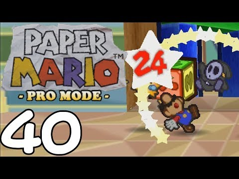 "Paper Mario Pro Mode BLIND [40] ""Anti Die"""