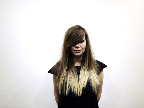 Long Haircut With Layers Tutorial Heavy Asymmetrical Fringe