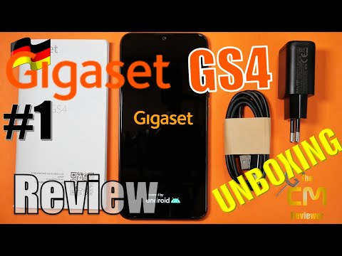Gigaset GS4 Deep Unboxing #1: Budget Smartphone MADE IN GERMANY