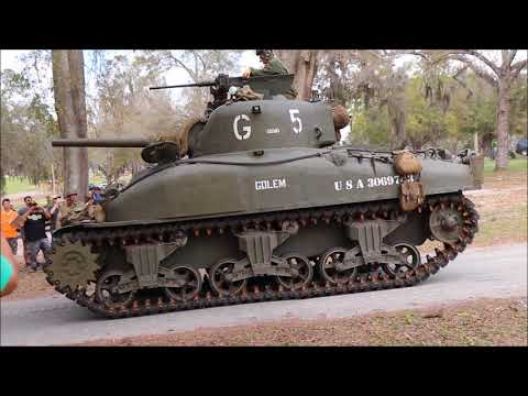 Awesome WW2 Reenactment [With Tanks]