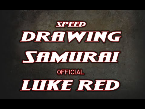 Speed Drawing Samurai Morris by Luke Red Tattoo