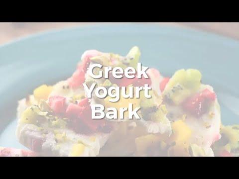 Greek Yogurt Bark