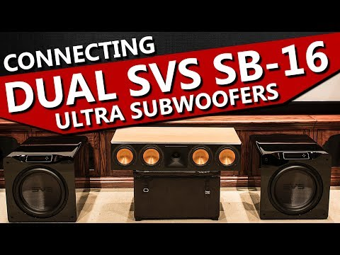 how-to-connect-two-subwoofers-to-one-receiver-|-dual-svs-sb-16-ultra