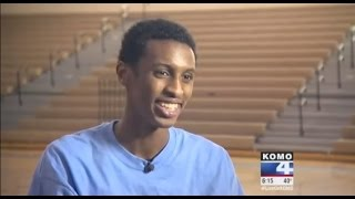 HS Senior Hafid Yassin's Dunk goes viral, News Story